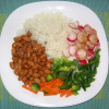 rice with beans and vegetables